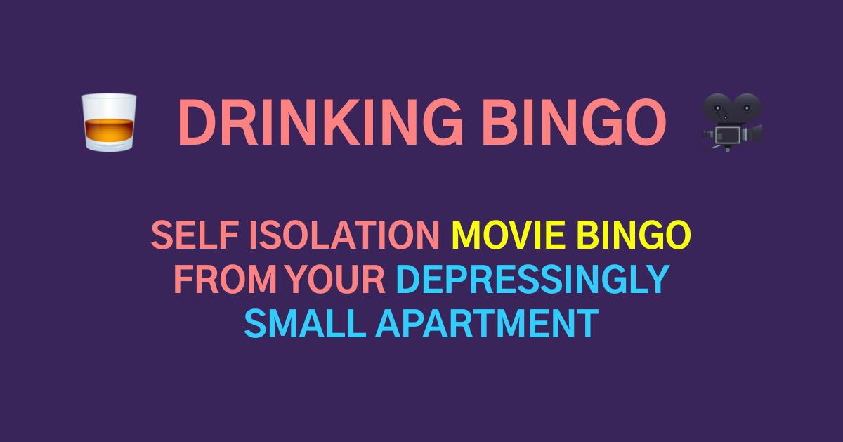 Drinking Bingo | Watch Movies & Get Drunk with Friends